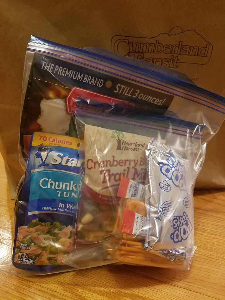 Ziploc bags, or how not to run out offood