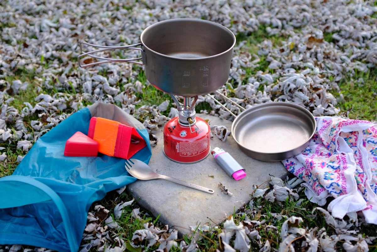Trail Tips: Creating your backpacking kitchen